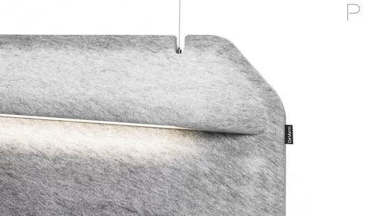 AK 2 Workspace Divider Lamp by Ivan Kasner and Uli Budde for De Vorm