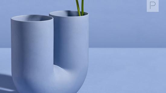 Kink Vase by Earnest Studio