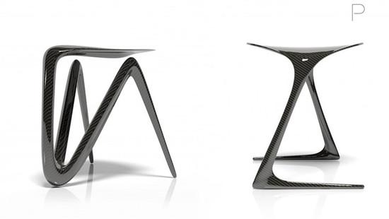 Plum Stool Series 1 & 2 by Alvaro Uribe Design