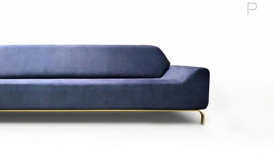 Sofa Apollo by Luciano Santelli for Milar Sofás