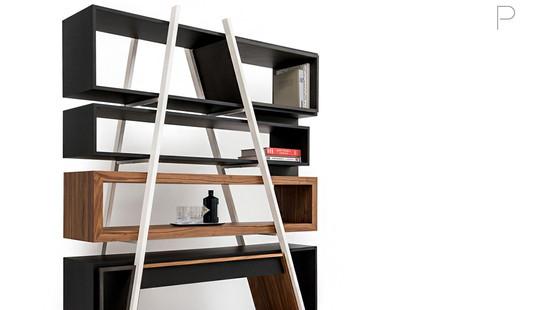 Ekta Shelf Unit by Franco Corea