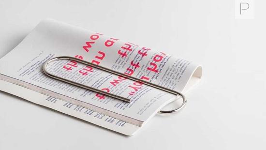 Oversized Paperclip by Carl Auböck