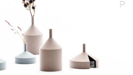 Unfinished Vases by Kazuya Koike