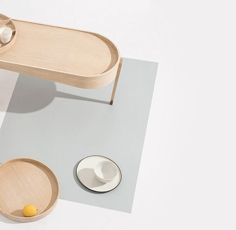 1/2 Coffee Table by Ziinlife