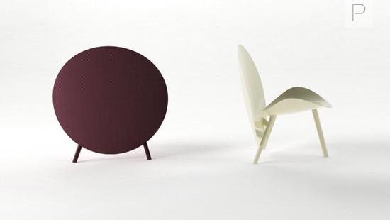 Carbon Fiber Halo Chair by Michael Sodeau