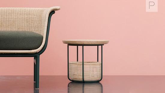 Basket Tables by Alain Gilles for Vincent Sheppard