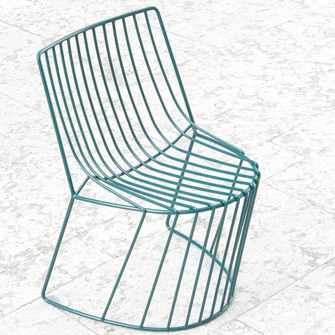 Amarone Chair by Enrico Girotti for Lapiega Wire Design