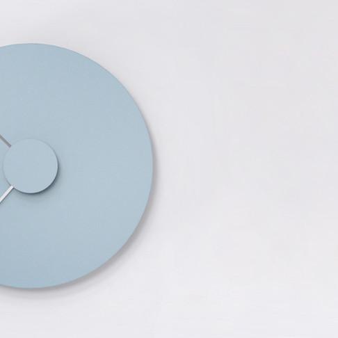 Revolve Wall Clock by Andrés Díaz de León Studio