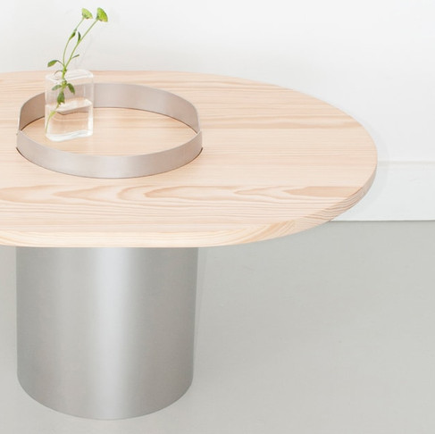 Rim tables by None Atelier