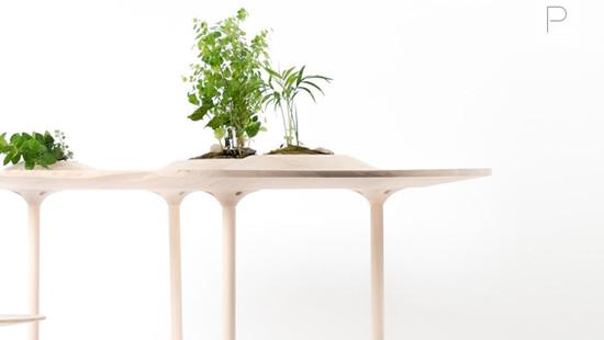 Pokopoko Table by Wooyoo
