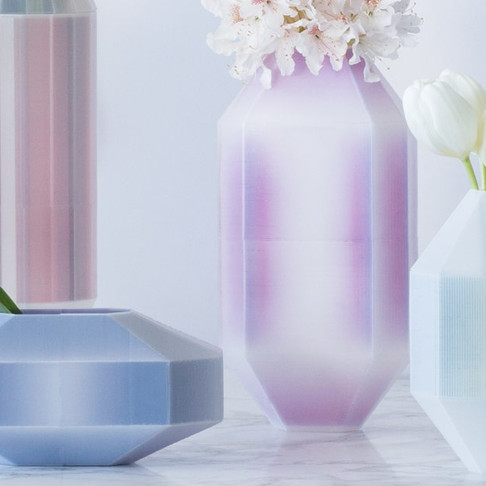 Chromogen Vases by Cecilia Xinyu Zhang