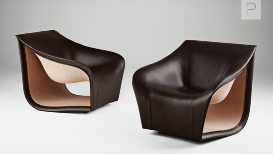 Split Sofa and Chair by Alex Hull for Gallery FUMI