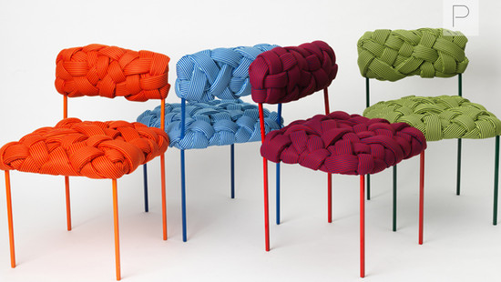 Woven Cloud Seating Collection by Humberto Damata