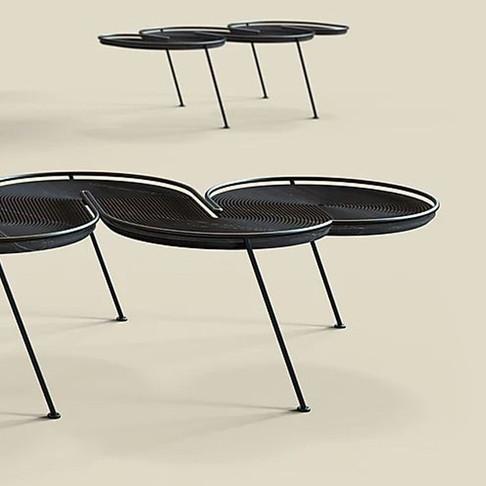 Tables by Studio David Elgrabi for Cosentino