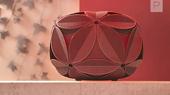 Ivy 3D Printed Clutches by Odo Fioravanti