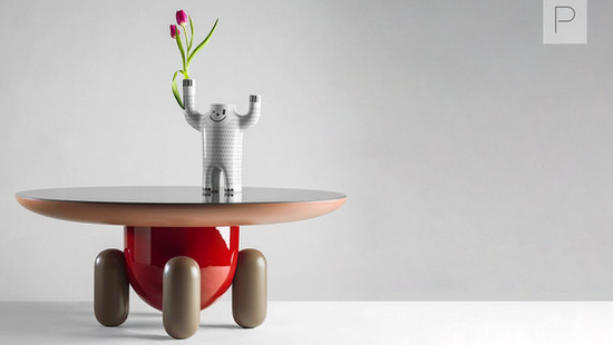 Explorer Tables by Jaime Hayon for BD Barcelona