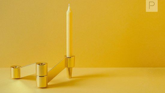 Heels Candlestick by Studio Gud for Noble & Wood