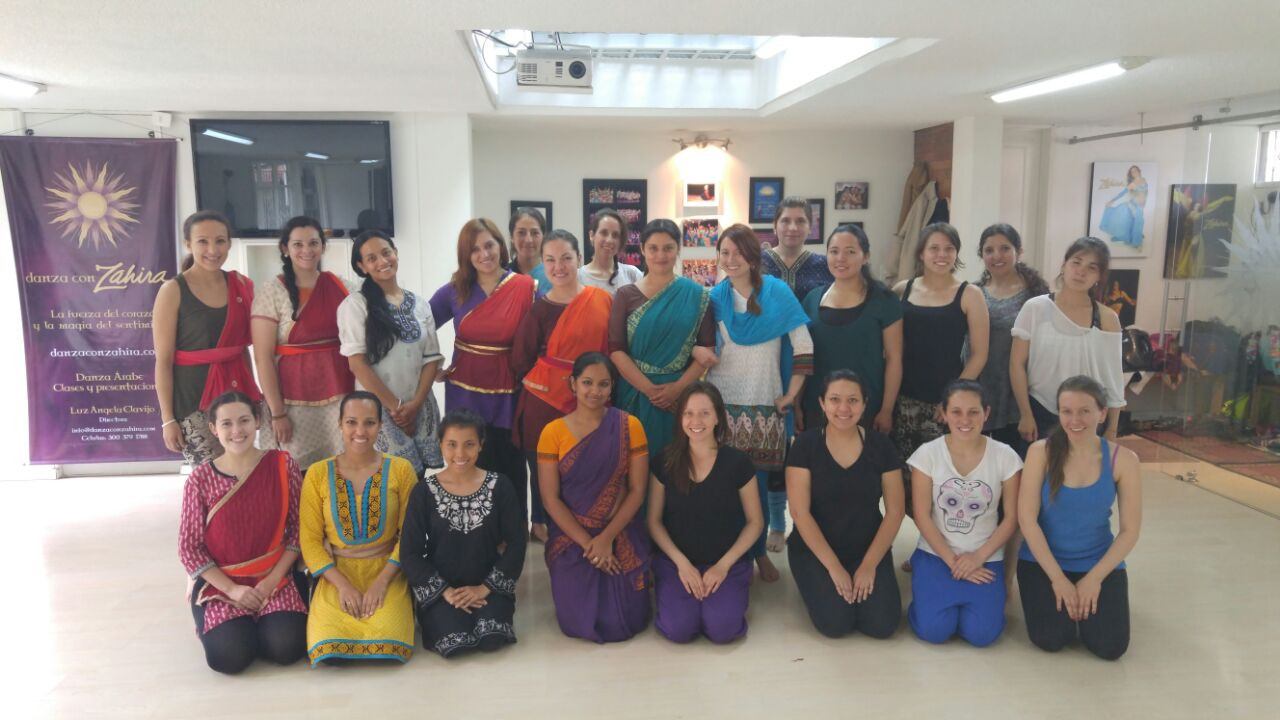 Workshop at Anjali, Danzas de India