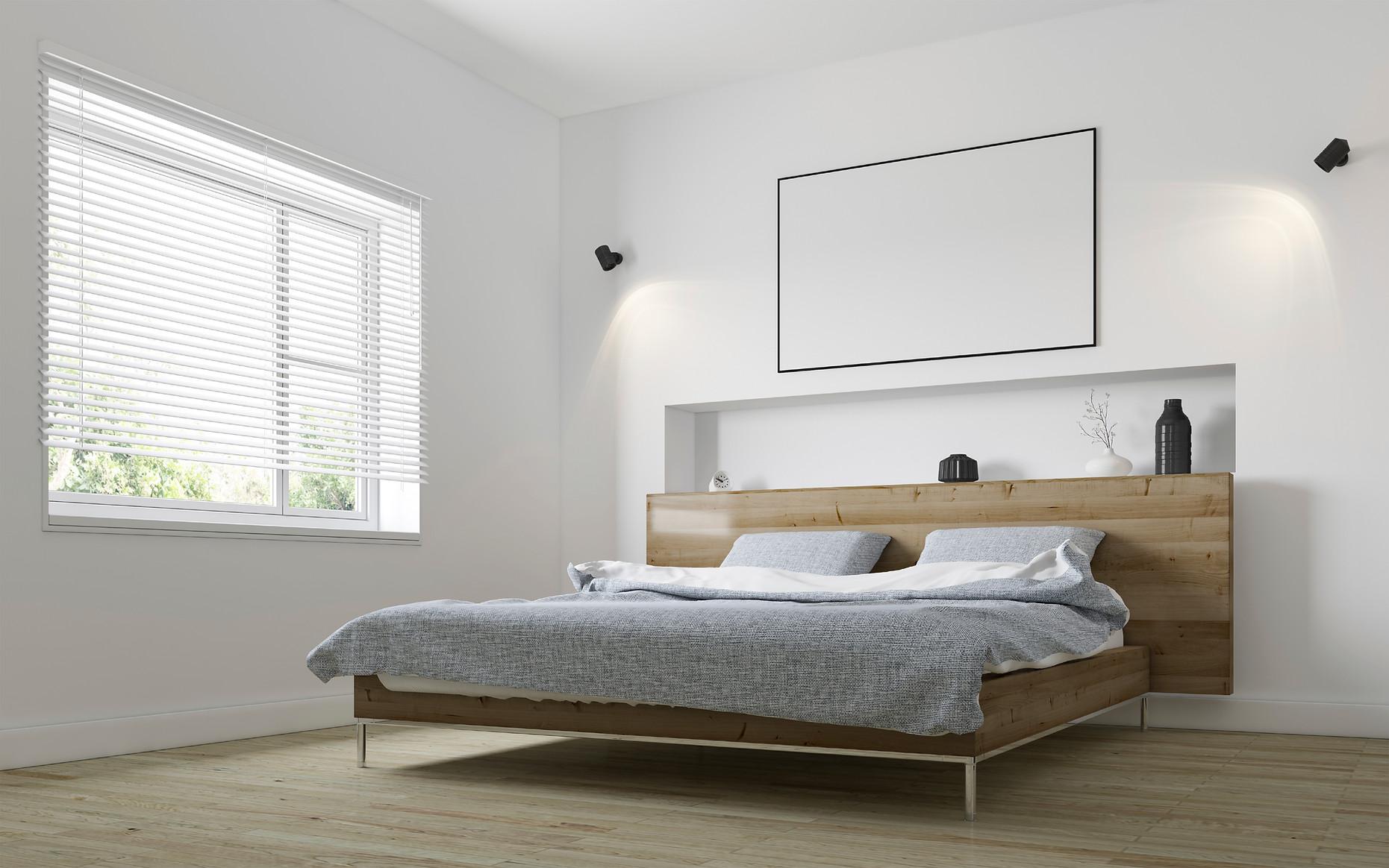 明亮的臥室