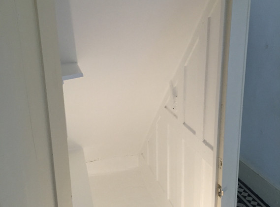 UNDERNEATH STAIRCASE BOX IN - CUSTOM MADE ACCESS PANELS