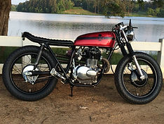 Classic Motorcycle Honda Cb360 Cafe Racer