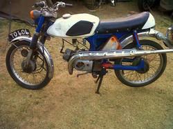 1969 Suzuki AS 50 Before