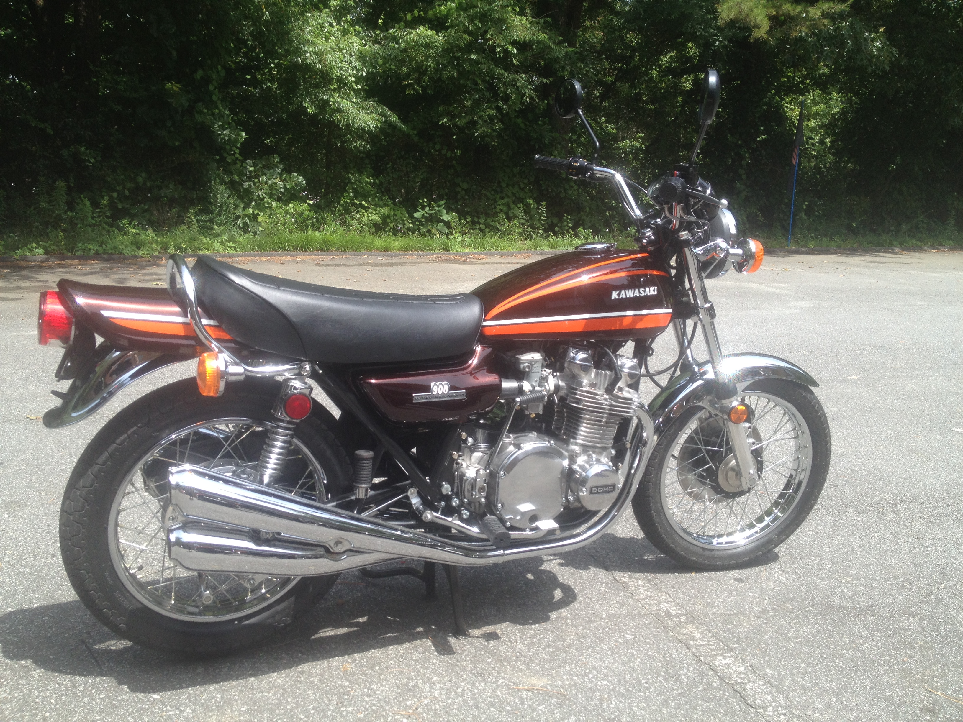 1974 Kawasaki Z1 After