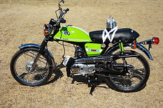Classic Motorcycle Suzuki Restoration Cafe Racer