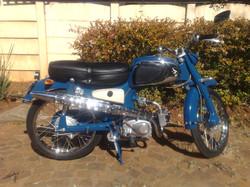 1963 Honda C1 10 after