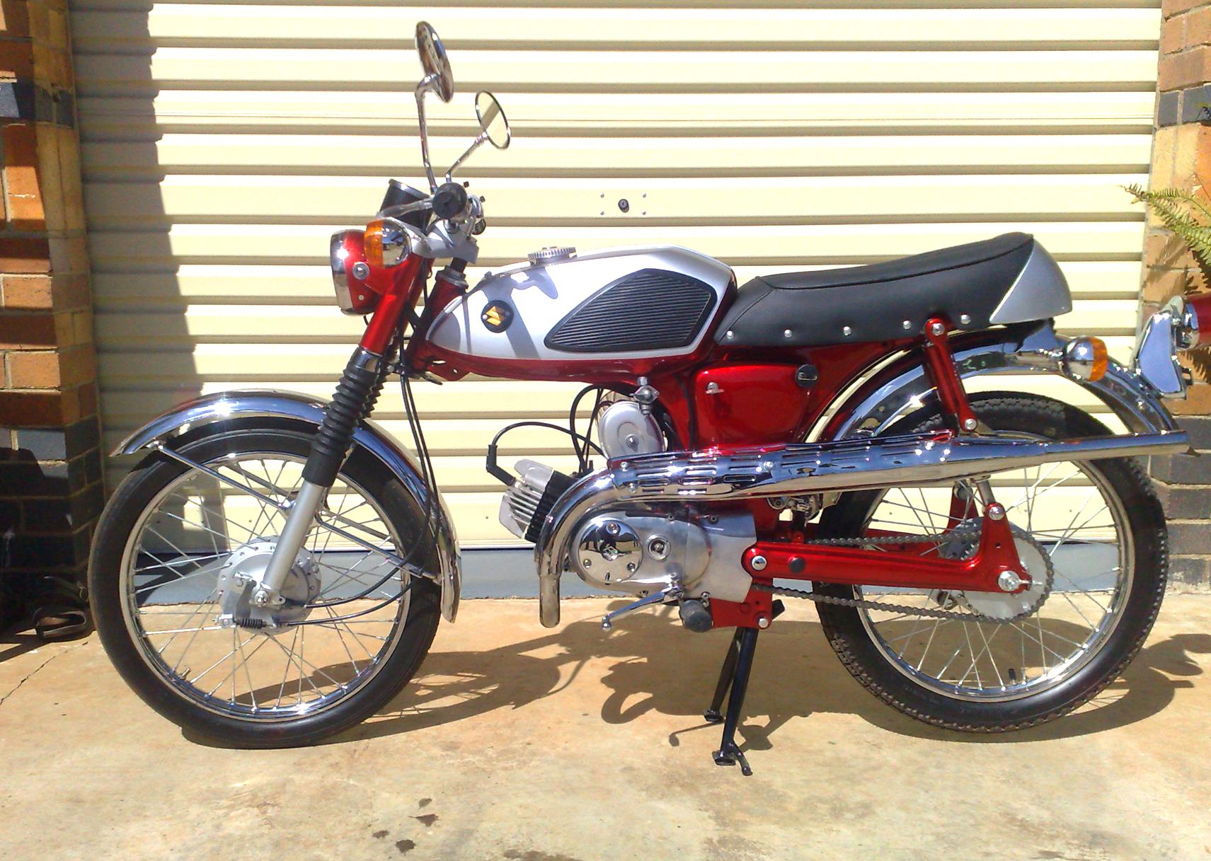 1969 Suzuki AS 50 After
