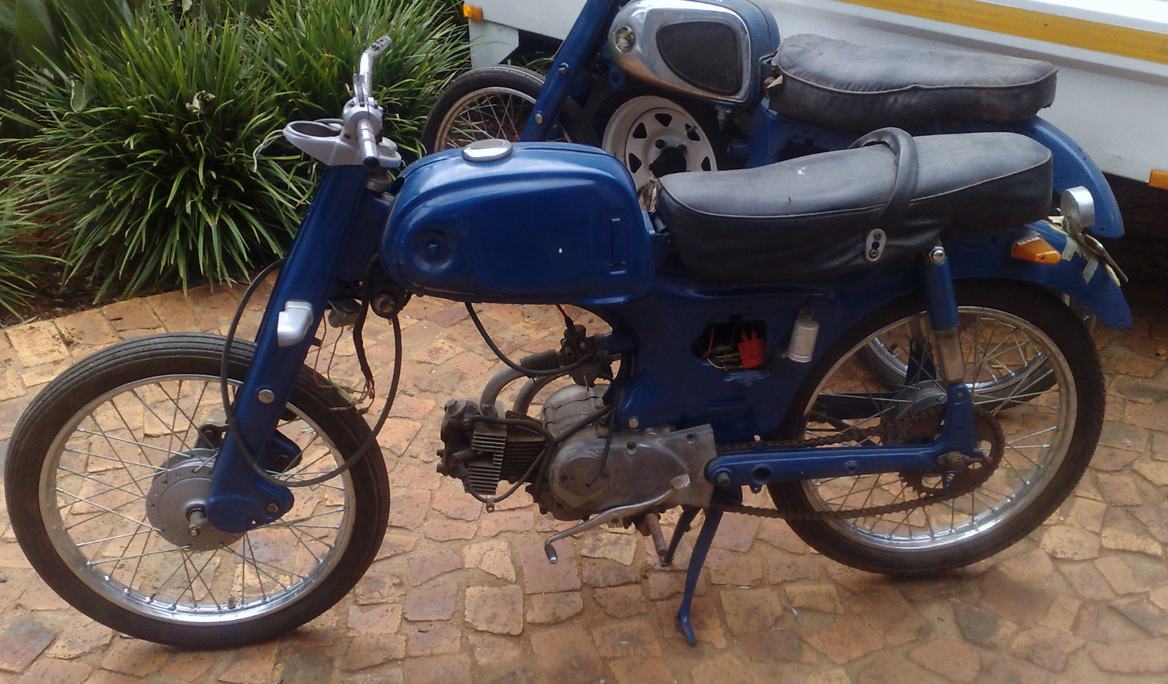 1963 Honda C1 10 before