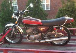 1974 Kawasaki H1 Before