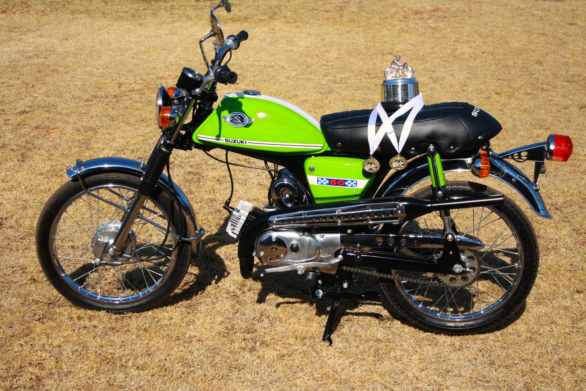 1974 Suzuki AC 50 After