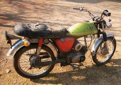 1974 Suzuki Ac 50 Before