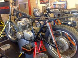 1975 Honda CB 550 Cafe Racer, Before
