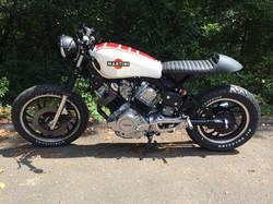 Yamaha Xv 750 Virago Cafe Racer, After