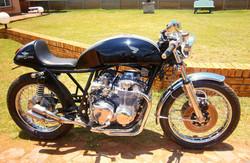 1975 Honda CB 550 Cafe Racer, After