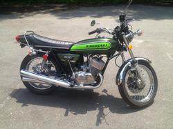 1974 Kawasaki H1 After
