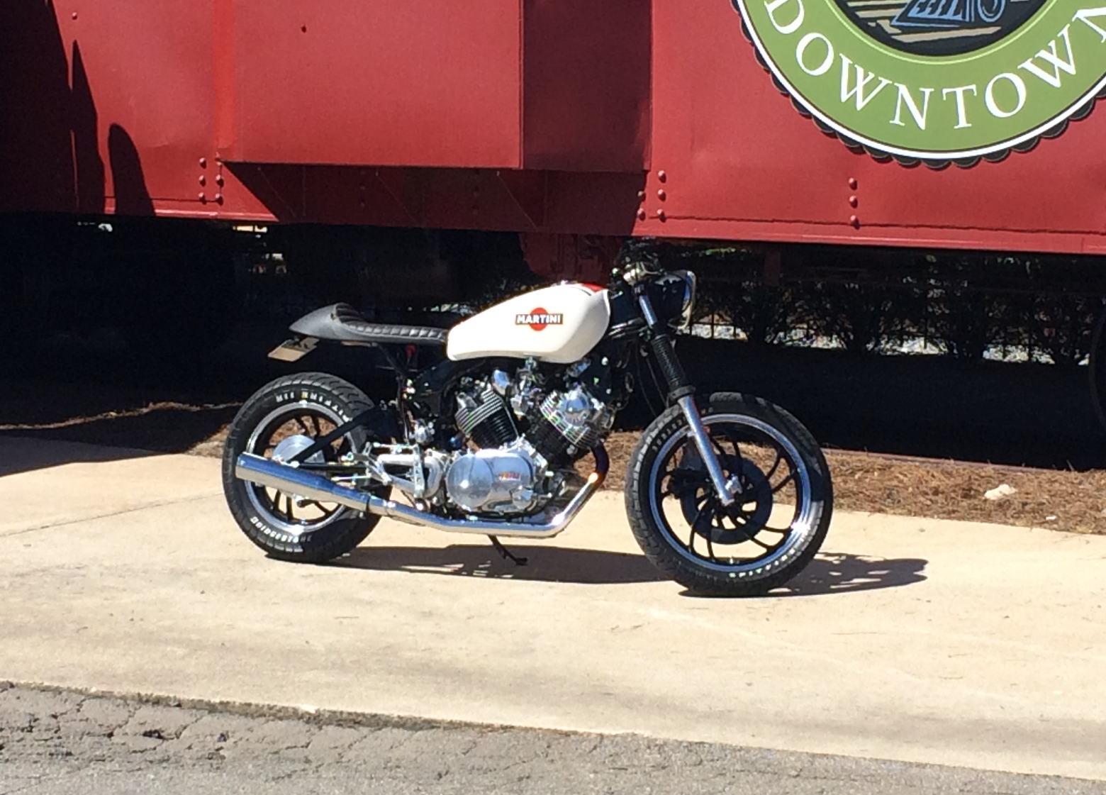 Yamaha Xv 750 Virago Cafe Racer, After