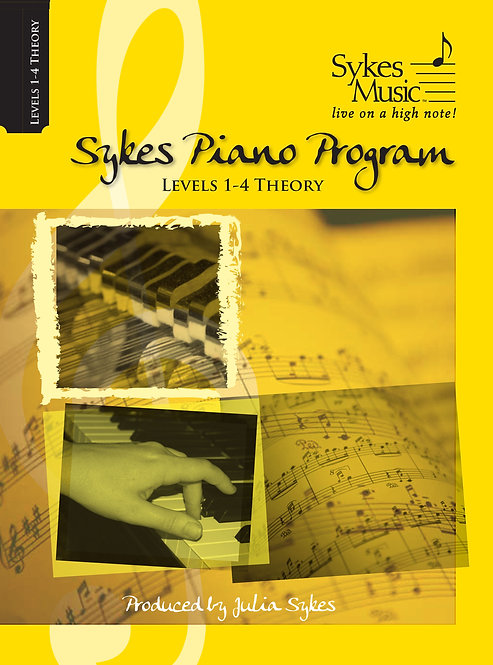 Program Levels 1 - 4 Theory Book