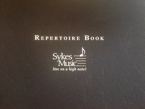 Repertoire Book