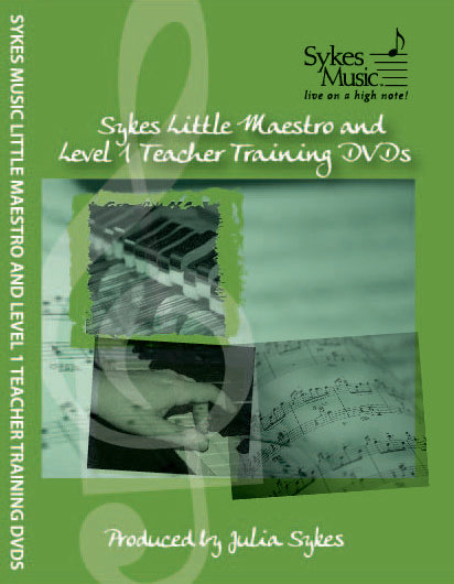 Sykes Little Maestro and Level 1 Teacher Training DVDs