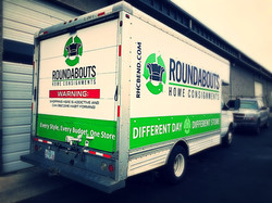 Roundabouts box truck vinyl graphics