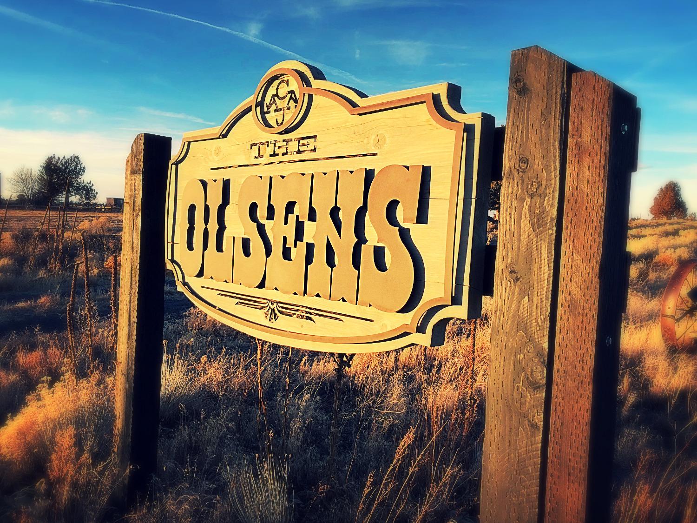 Custom Ranch Sign