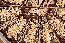 peanut butter chocolate chip raw vegan gluten free cheesecake