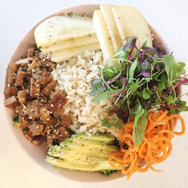 Tiny Moreso Grains and greens bowl