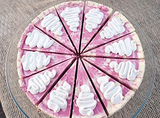 Strawberry lemon raw vegan gluten free cheesecake