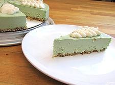 key lime raw vegan gluten free cheesecake