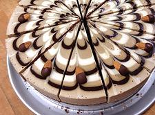 coffee with cream raw vegan gluten free cheesecake