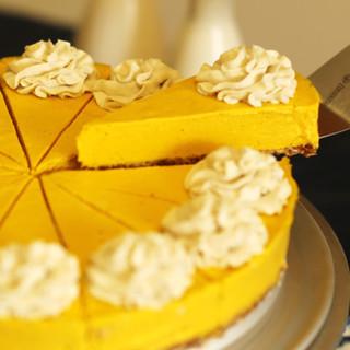 rawdacious cheesecake pumpkin